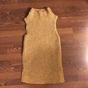 Wilfred Durandal Sweater, XXS, mustard yellow